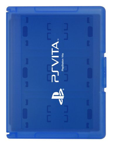 Image 1 for Card Case 12 for PlayStation Vita (Blue)