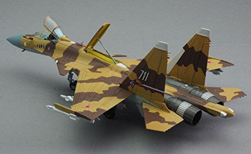 "Image 6 for GiMIX Aircraft Series - AC601 - Russian Air Force Su-37 - 1/144 - Flanker E2  ""711"" (Tomytec)"
