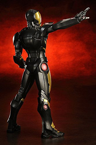 Image 3 for The Avengers - Iron Man - ARTFX+ - Marvel The Avengers ARTFX+ - 1/10 - Black  x Gold (Kotobukiya)