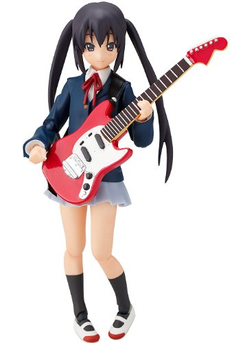 Image 1 for K-ON! - Nakano Azusa - Figma #061 - School Uniform Ver. (Max Factory)