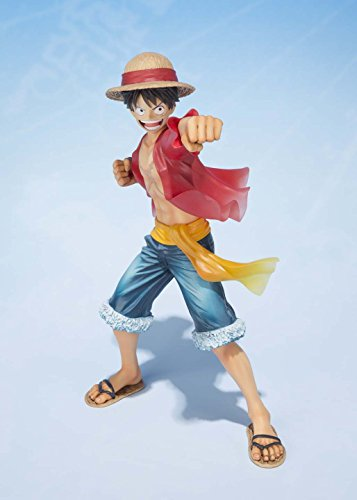 Image 8 for One Piece - Monkey D. Luffy - Figuarts ZERO - -5th Anniversary Edition-, The New World (Bandai)