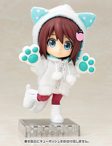 Image 9 for Cu-Poche - Cu-Poche Extra - Animal Parka Set - White Cat (Kotobukiya, Noix de Rome)