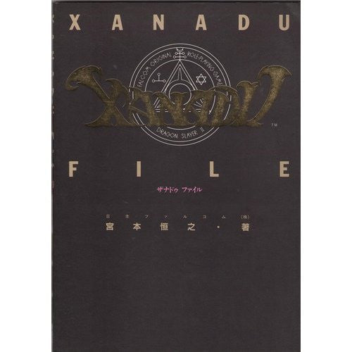 Image 1 for Xanadu File Strategy Guide Book / Windows