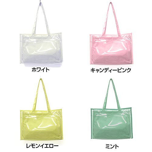 Image 4 for Ita Bag - Clear Tote Bag - Candy Pink