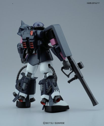 Image 2 for Kidou Senshi Gundam - MS-06R-1A Zaku II High Mobility Type - HGUC #151 - 1/144 - Black Tri-Stars Version (Bandai)