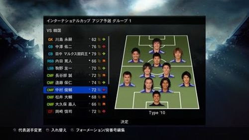 Image 3 for World Soccer Winning Eleven 2010: Aoki Samurai no Chousen