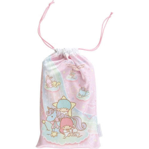 Image 3 for Little Twin Stars Pouch for 3DS LL (Pink)