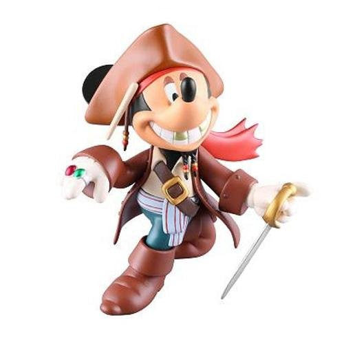 Image 1 for Mickey Mouse - Pirates of the Caribbean - Ultra Detail Figure - 150 - Jack Sparrow ver. (Medicom Toy)