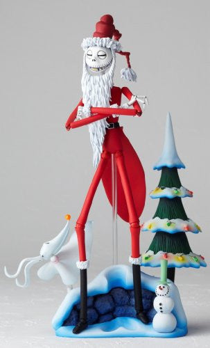 Image 3 for The Nightmare Before Christmas - Jack Skellington - Zero - Revoltech - Revoltech SFX #017 - Santa Ver. (Kaiyodo)