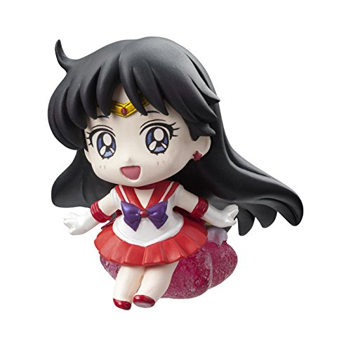 Sailor Moon Mini Figure Petit Chara Candy Mercury Mars Jupiter Venus Tuxedo