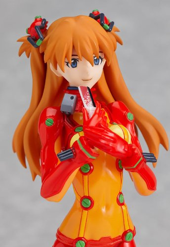 Image 4 for Evangelion Shin Gekijouban - Souryuu Asuka Langley - Figma #084 - Test Plugsuit ver. (Max Factory)