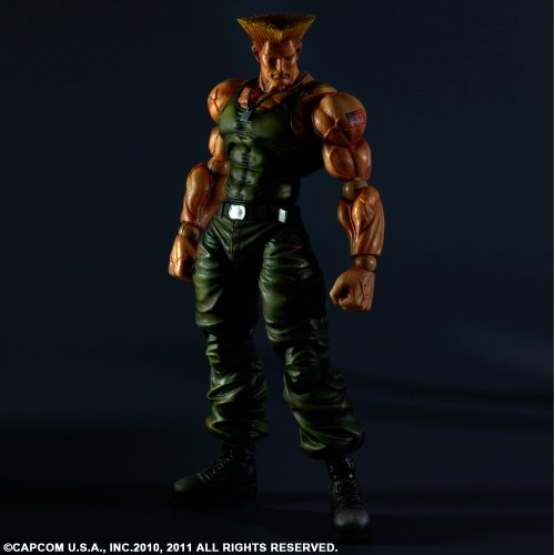 Image 2 for Super Street Fighter IV - Guile - Play Arts Kai (Square Enix)