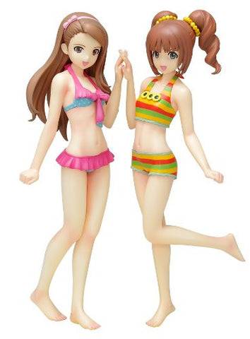 Image for iDOLM@STER 2 - Minase Iori - Takatsuki Yayoi - Beach Queens - 1/10 - Limited Set, Swimsuit ver. (Wave)