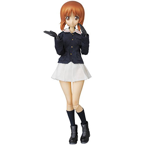Image 5 for Girls und Panzer - Nishizumi Miho - Real Action Heroes #682 - 1/6 (Medicom Toy)