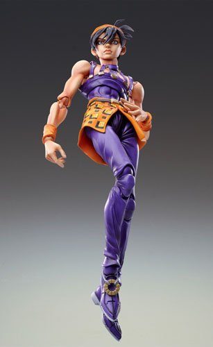 Image 2 for Jojo no Kimyou na Bouken - Vento Aureo - Aerosmith - Clash - Formaggio - Narancia Ghirga - Super Action Statue #44 (Medicos Entertainment)
