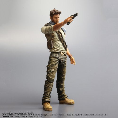 Image 4 for Uncharted 3 - Nathan Drake - Play Arts Kai (Square Enix)