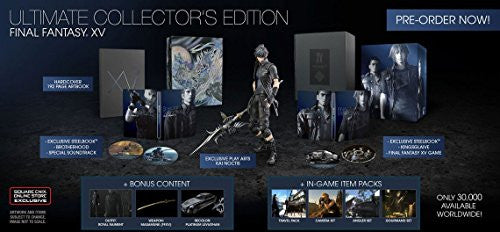 Image 1 for FINAL FANTASY® XV ULTIMATE COLLECTOR'S EDITION