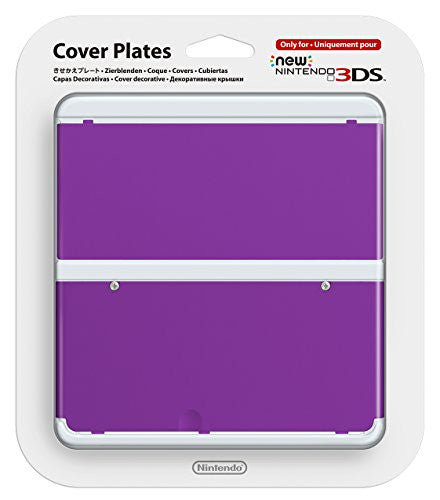 New Nintendo 3DS Cover Plates No.035 (Purple)