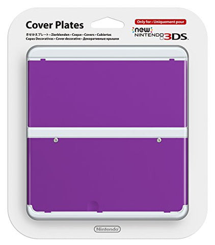 Image for New Nintendo 3DS Cover Plates No.035 (Purple)