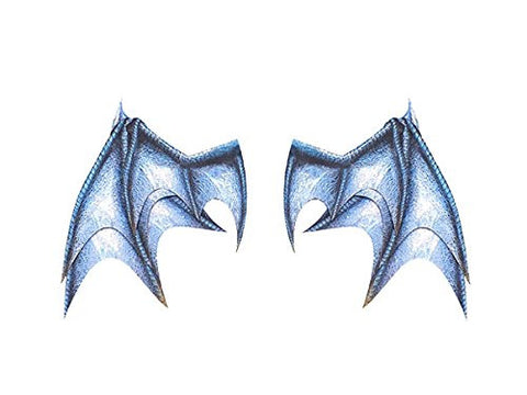 Image for Pepatama Series - Paper Effect - Wing A - Dragon Wing - Blue