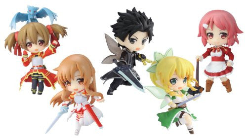 Image 1 for TOY'S WORKS COLLECTION 2.5 DELUXE SWORD ART ONLINE (SET OF 6 PIECES)