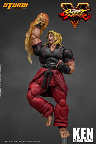 Image 10 for Street Fighter V - Ken Masters - 1/12 (Storm Collectibles)