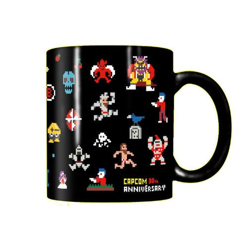 Image 1 for Rockman - Makaimura - Metall - Arthur - Red Arremer - Mug - 30th Anniversary, 80's (Capcom)