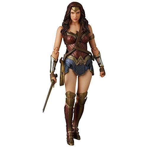 Image 3 for Batman v Superman: Dawn of Justice - Wonder Woman - Mafex No.024 (Medicom Toy)