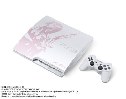 Image for PlayStation3 Slim Console - Final Fantasy XIII Lightning Bundle (HDD 250GB Model) - 110V