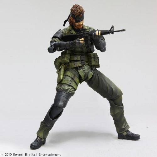 Image 5 for Metal Gear Solid Peace Walker - Naked Snake - Play Arts Kai - Jungle Fatigues (Square Enix)