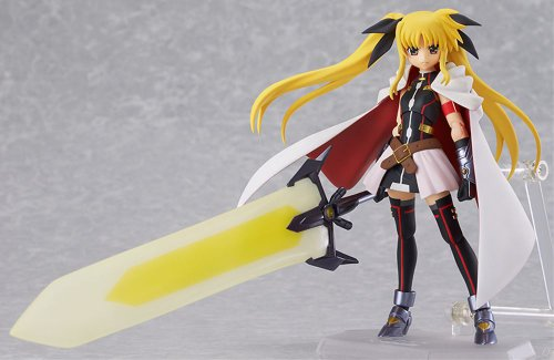 Image 2 for Mahou Shoujo Lyrical Nanoha The Movie 2nd A's - Fate Testarossa - Figma #186 - Blaze Form ver. (Max Factory)