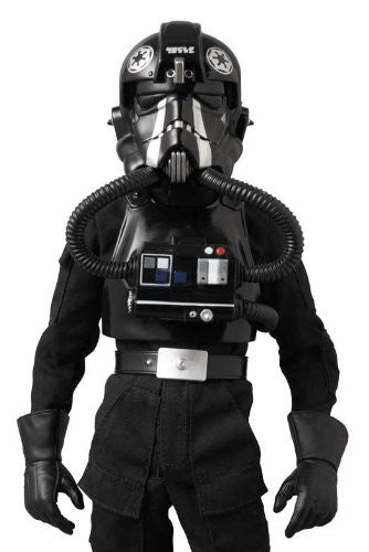 "Image 4 for Star Wars - TIE Fighter Pilot - Real Action Heroes #631 - 1/6 - Black 3 ""Backstabber"" (Medicom Toy)"