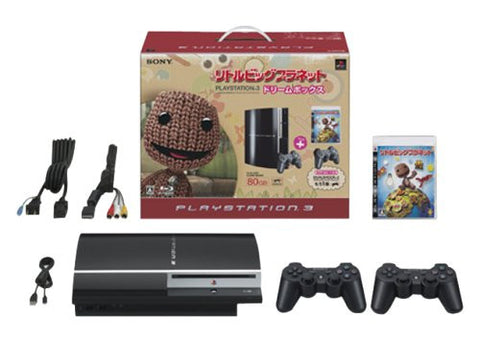 Image for PlayStation3 Console (HDD 80GB LittleBigPlanet Dream Box) - Clear Black