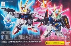 Kidou Senshi Gundam SEED - Kidou Senshi Gundam SEED Destiny - GAT-X105 Strike Gundam - ZGMF-X56S/α Force Impulse Gundam - SD Gundam BB Senshi (Bandai)