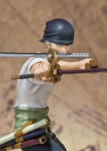 Image 7 for One Piece - Roronoa Zoro - Figuarts ZERO - Battle ver. (Bandai)