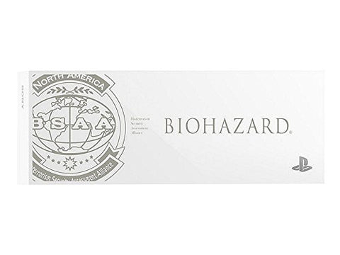 Biohazard BSAA Version PS4 Coverplate White