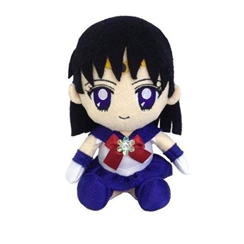 Image 1 for Bishoujo Senshi Sailor Moon - Sailor Saturn - Mini Cushion - Sailor Moon Mini Plush Cushion (Bandai)