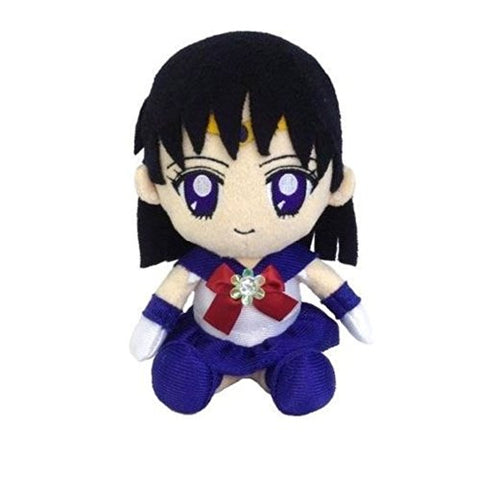Image for Bishoujo Senshi Sailor Moon - Sailor Saturn - Mini Cushion - Sailor Moon Mini Plush Cushion (Bandai)