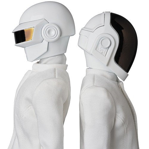 Image 3 for Daft Punk - Guy-Manuel de Homem-Christo - Real Action Heroes No.734 - 1/6 - White Suit Ver. (Medicom Toy)