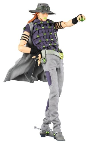 Image 1 for Jojo no Kimyou na Bouken - Steel Ball Run - Gyro Zeppeli - Real Action Heroes #429 - 1/6 (Medicom Toy)