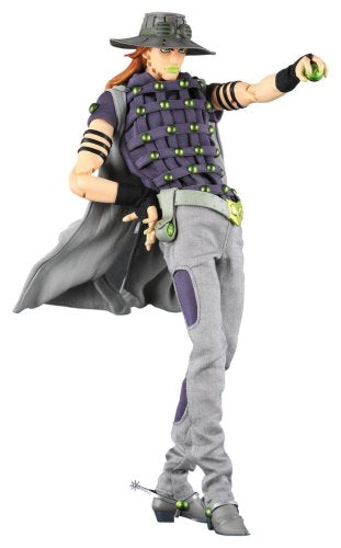Jojo no Kimyou na Bouken - Steel Ball Run - Gyro Zeppeli - Real Action Heroes #429 - 1/6 (Medicom Toy)