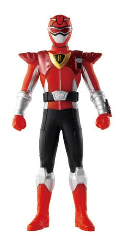 Image for Tokumei Sentai Go-Busters - Red Buster - Sentai Hero Series - 06 - Powered Custom (Bandai)