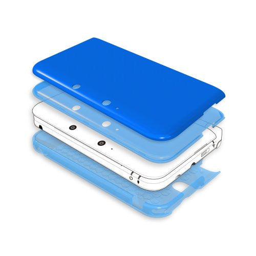 Image 2 for Jelly Hard Cover for 3DS LL (Blue)