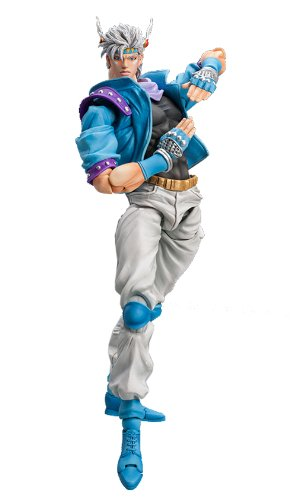 Image 1 for Battle Tendency - Jojo no Kimyou na Bouken - Caesar Anthonio Zeppeli - Super Action Statue #61 - Second ver. (Medicos Entertainment)