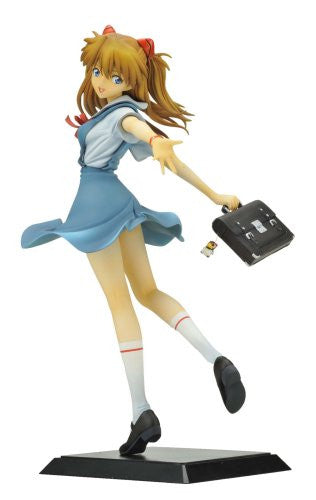 Image 1 for Evangelion Shin Gekijouban - Souryuu Asuka Langley - 1/6 - School Uniform ver. (Aizu Project)