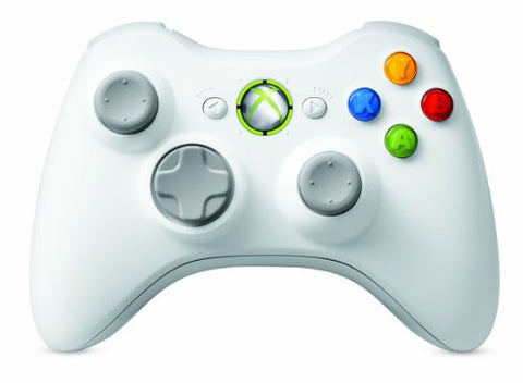 Image for Xbox 360 Wireless Controller (Pure White)