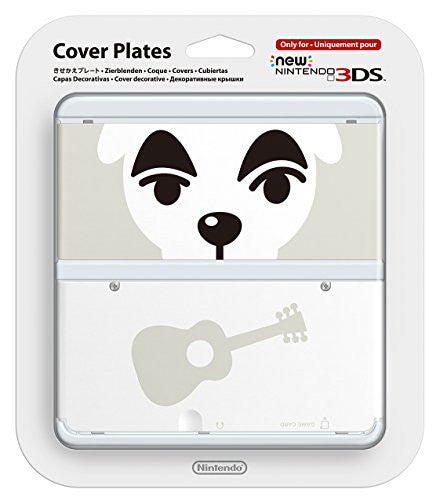 Image 1 for New Nintendo 3DS Cover Plates No.041 (Animal Crossing Totakeke)