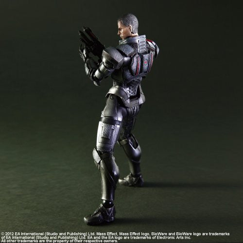 Image 8 for Mass Effect 3 - John Shepard - Play Arts Kai (Square Enix)