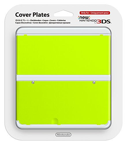 Image 1 for New Nintendo 3DS Cover Plates No.034 (Yellow Green)
