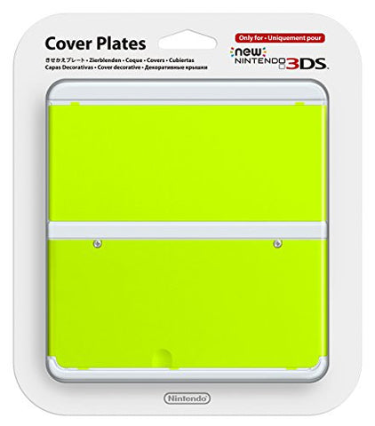 Image for New Nintendo 3DS Cover Plates No.034 (Yellow Green)